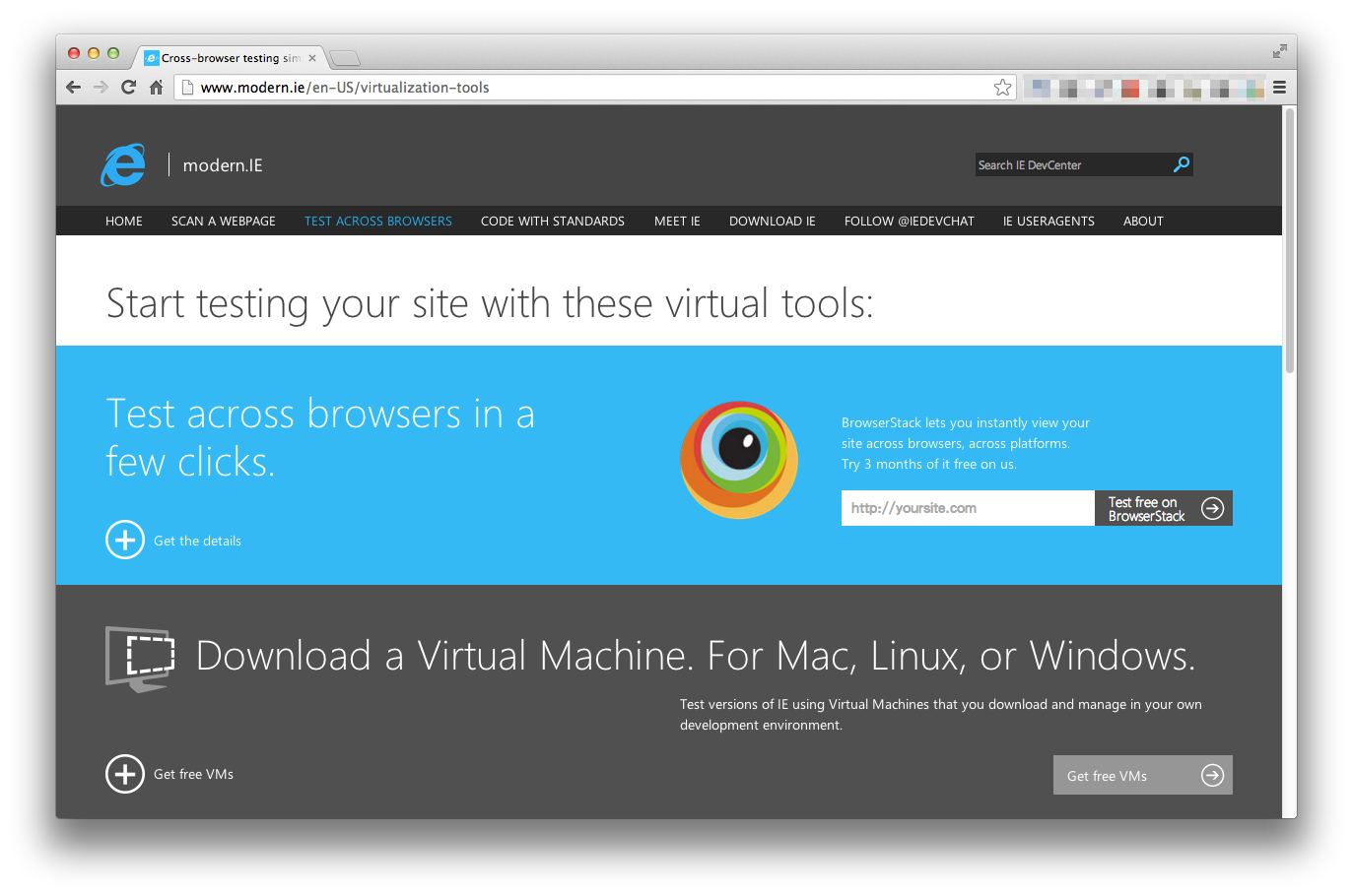 Cross-browser-testing