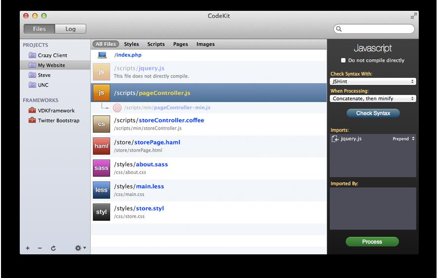 CodeKit Interface